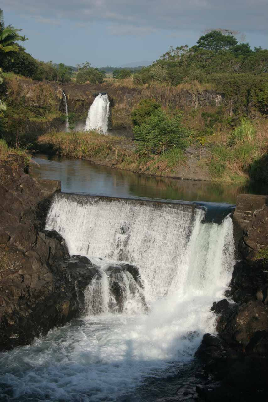 Another look at Wai'ale Falls from the road bridge
