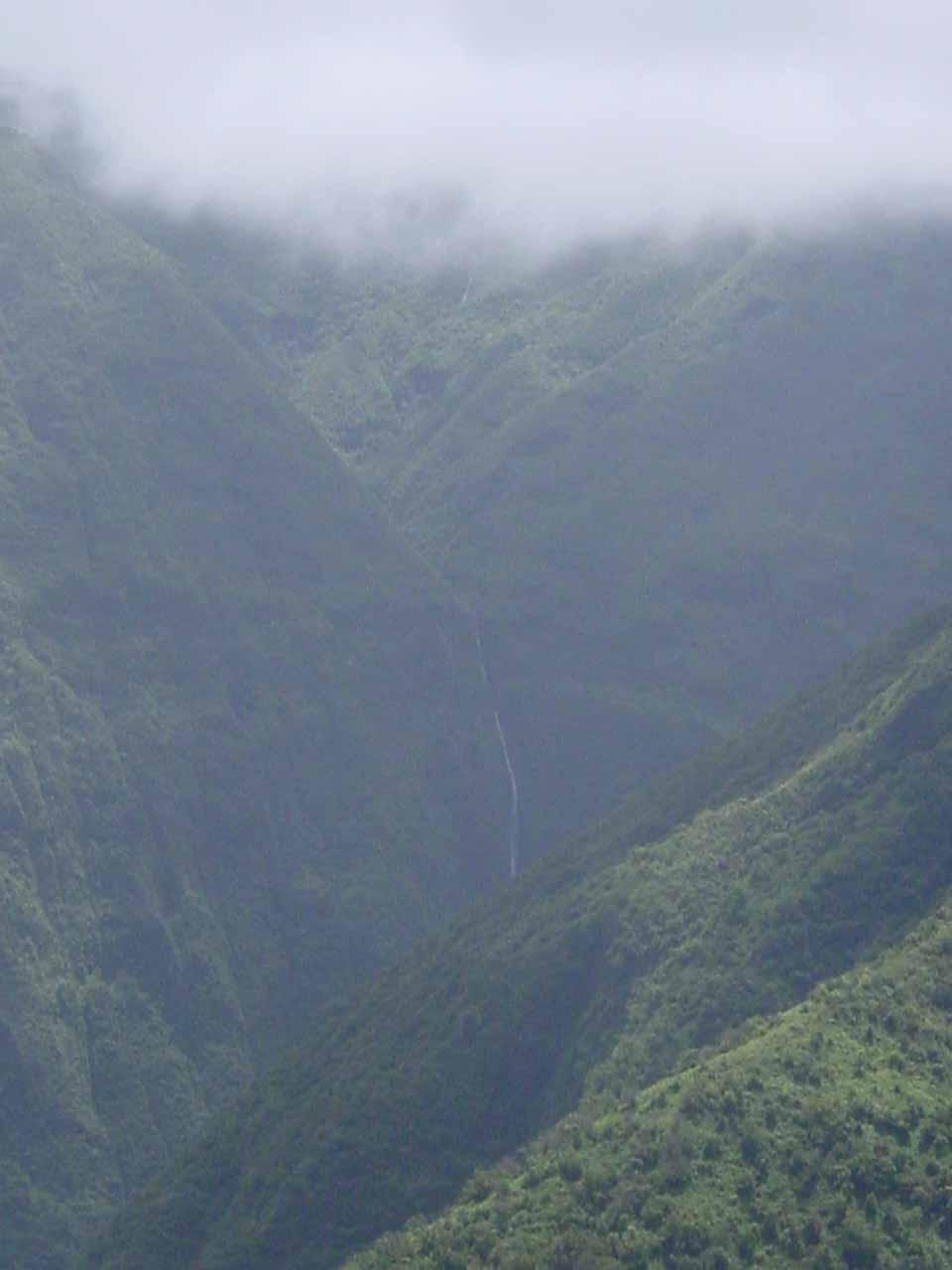 Mananole Falls Waihee Valley Maui Usa