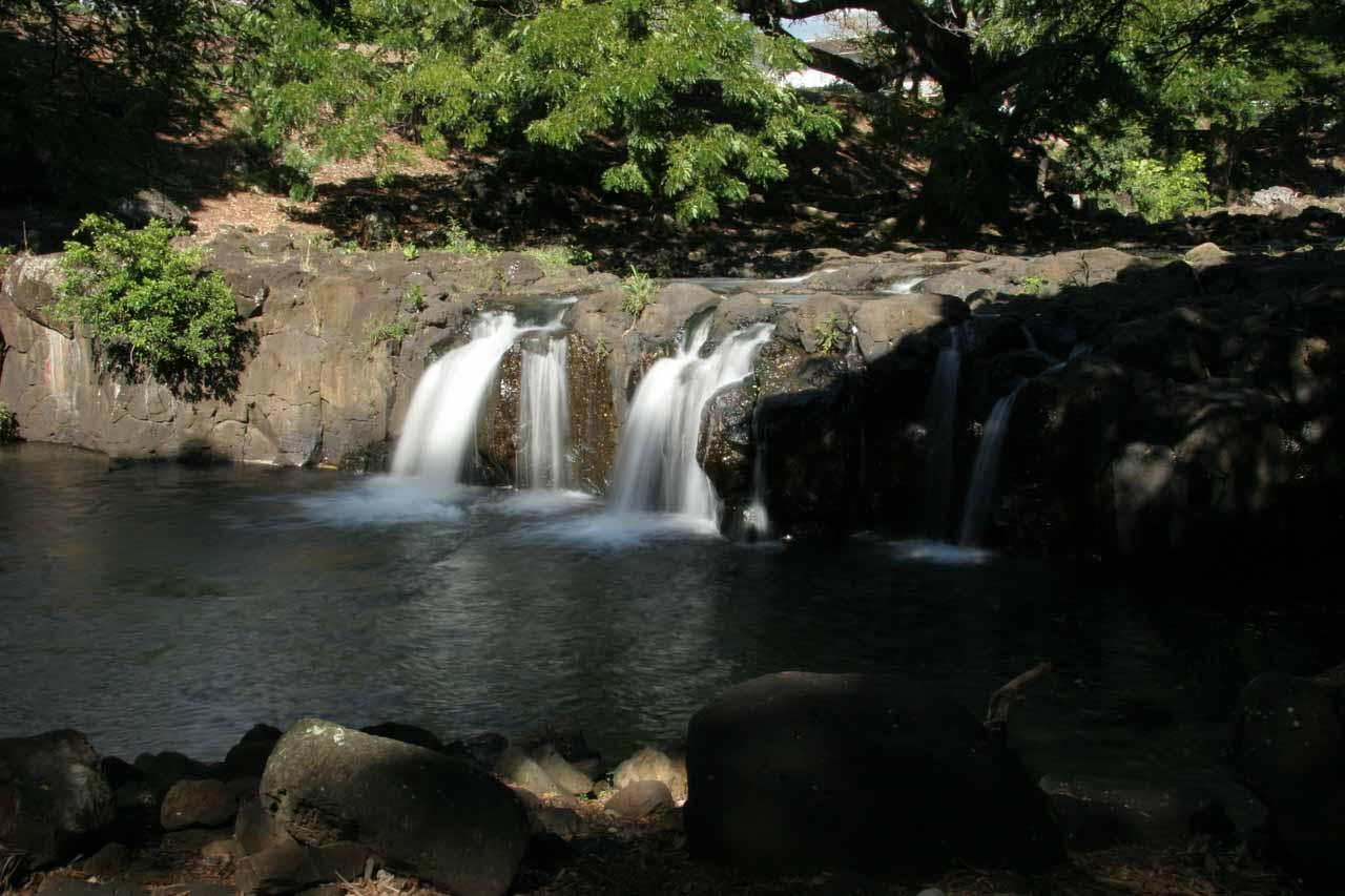 Waikahalulu Falls