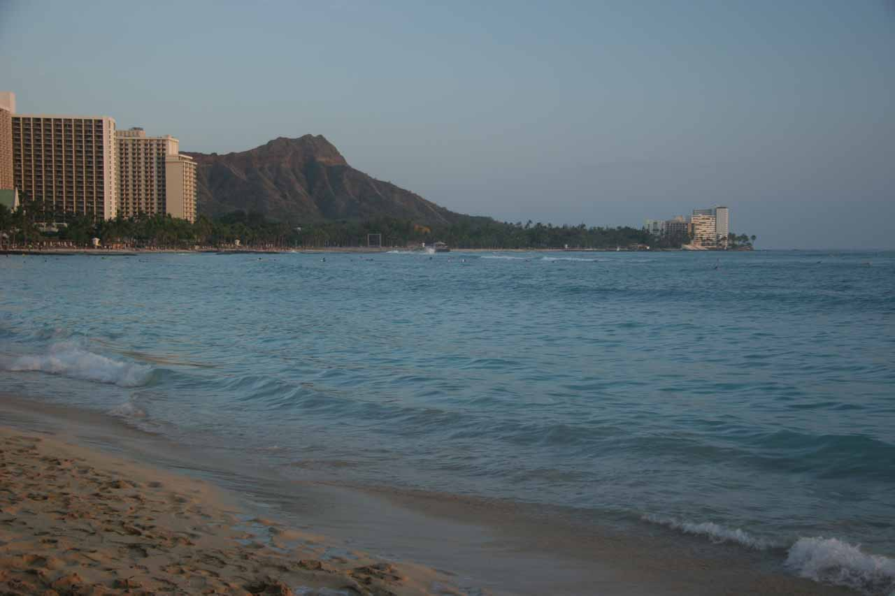 Does it get any more iconic than hanging out (or ten) at Waikiki Beach?