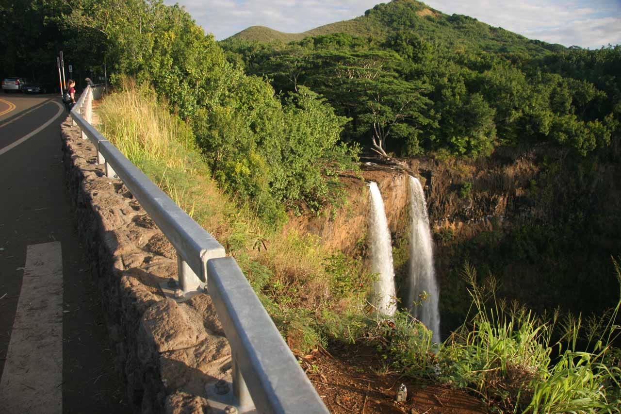 Overlook of the Wailua Falls