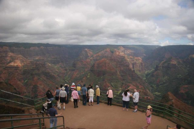 Waimea_012_12272006 - Waimea Canyon was the Hawaiian version of the Grand Canyon, and it's definitely an impressive sight to behold