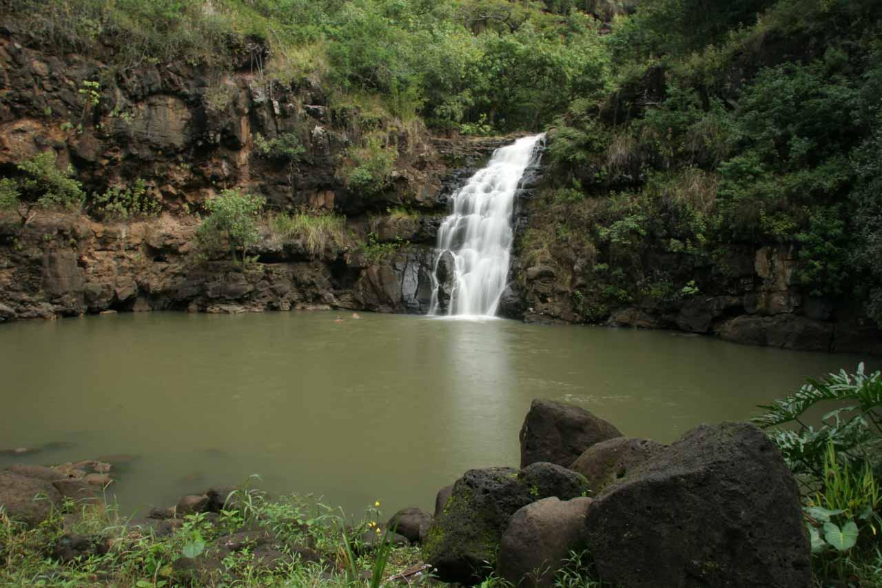 Full context of Waimea Falls