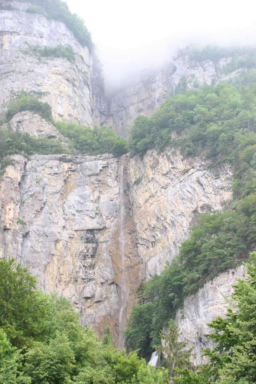 Approaching Seerenbach Falls