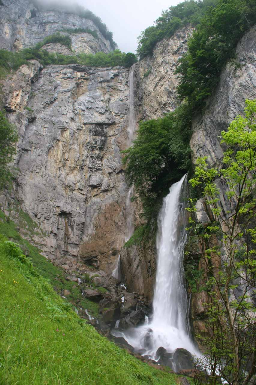 Context of both Seerenbach Falls and Rinquelle