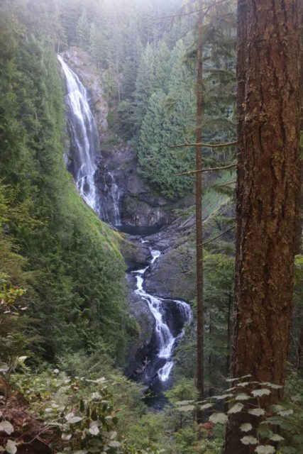 Wallace_Falls_17_088_07292017 - Full view of Wallace Falls during my second visit in late July 2017