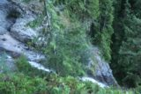 Wallace_Falls_17_114_07292017 - Looking over the brink of the Middle Wallace Falls from the end of the second spur trail during the long climb on my July 2017 hike
