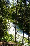Walupt_Falls_029_06212021 - Looking across an intermediate cascade on Walupt Creek as I pursued the Walupt Falls