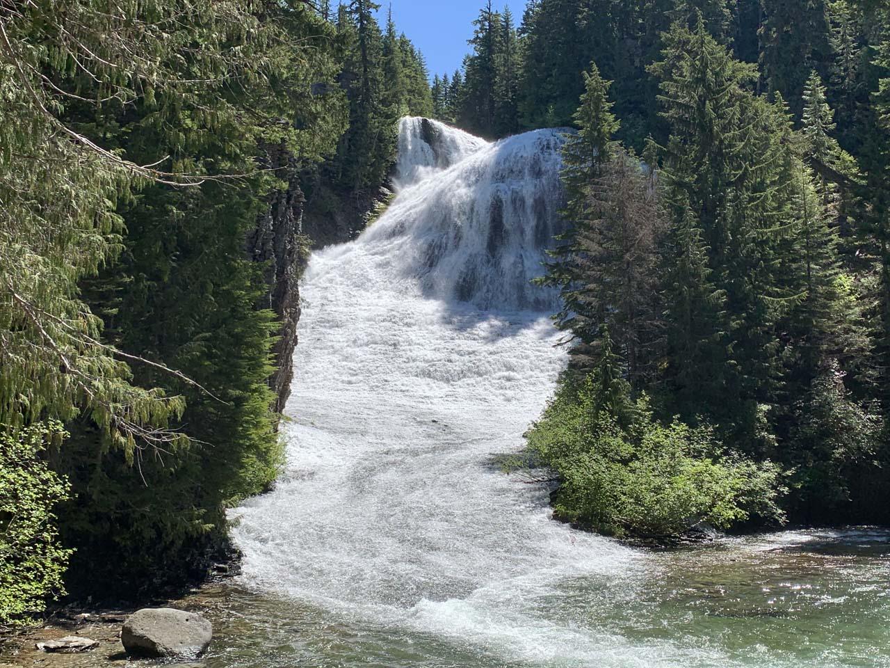 Walupt Falls or Walupt Creek Falls