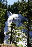 Walupt_Falls_050_06212021 - Partial obstructed look towards the top part of Walupt Falls