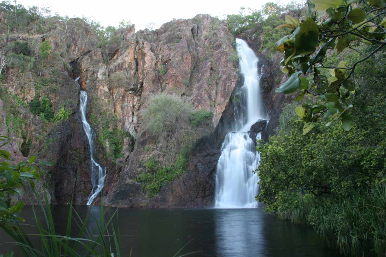 Morning light meant I could take long exposure photos of Wangi Falls