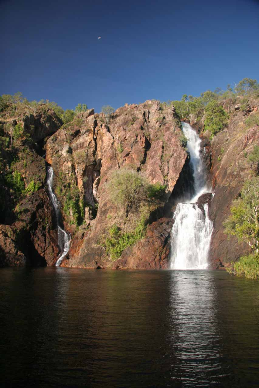 Late afternoon view of Wangi Falls