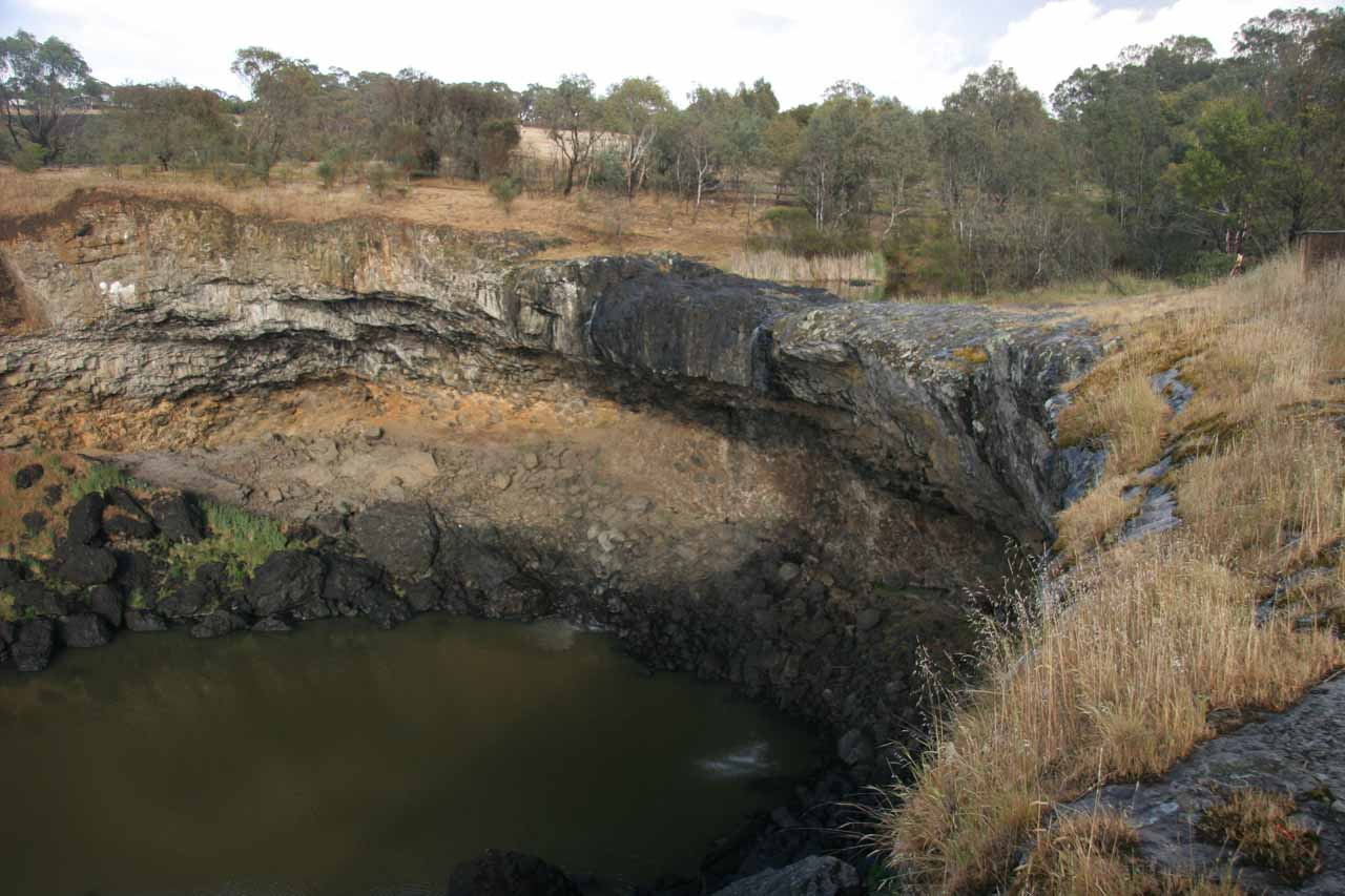 This was what Wannon Falls looked like back in November 2006, when it was merely a disappointing trickle