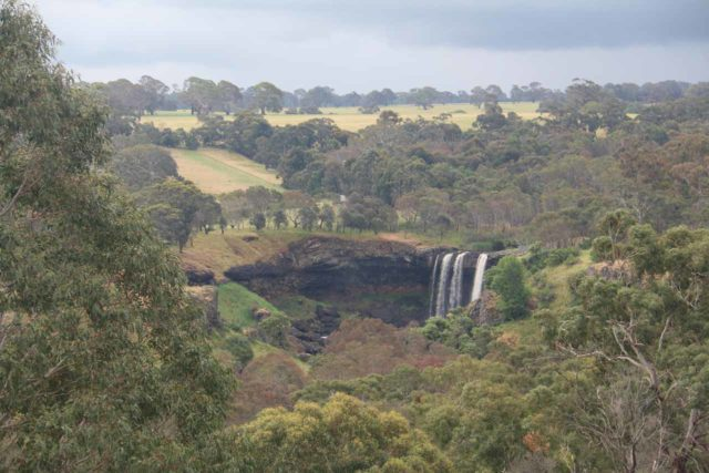 Wannon_Falls_17_006_11152017 - This was the distant view of Wannon Falls from the Thomas Clark Viewing Area