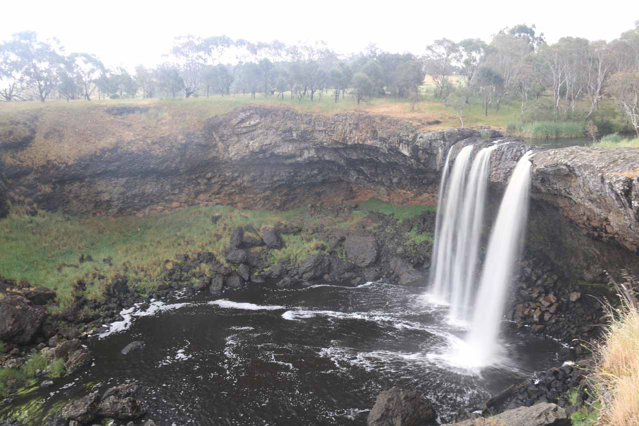 Finally, a successful visit to the famed Wannon Falls