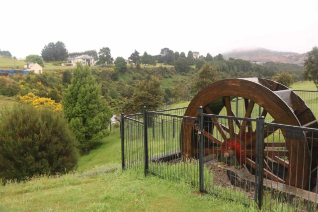 Waratah_Falls_17_027_12012017 - This was the Dudley Kenworthy Wheel, which was the main mechanism for converting water power to electricity (illuminating the town of Mt Bischoff (Waratah) before more advanced means came along
