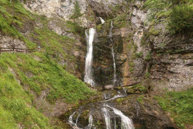 Wasserlochklamm_155_07062018 - Approaching the fifth signposted waterfall in the Wasserlochklamm