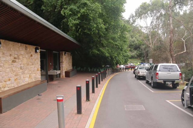 Waterfall_Gully_17_001_11102017 - Looking back at the car park and restroom facility for the Waterfall Gully