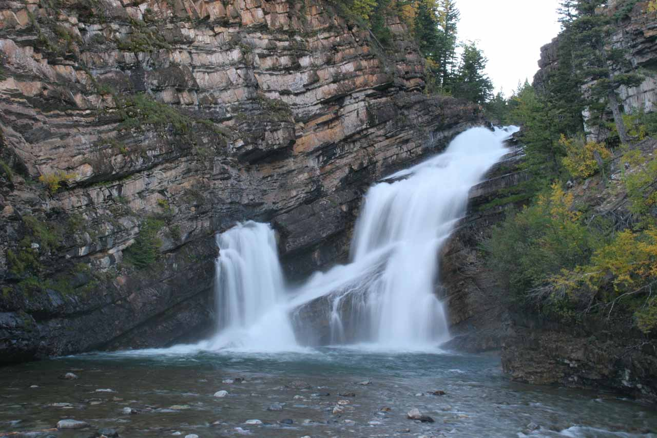 Another look at Cameron Falls