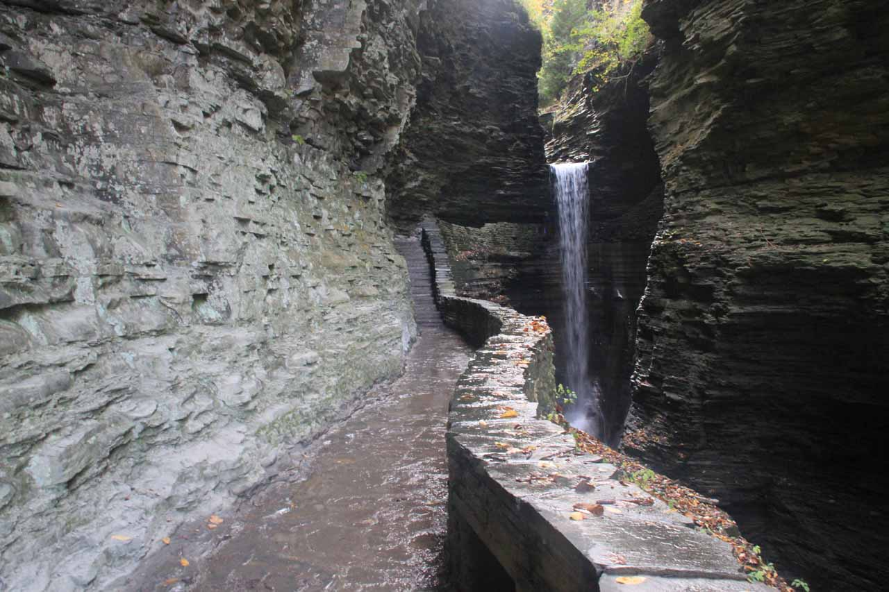 The Cavern Cascade and Gorge Trail