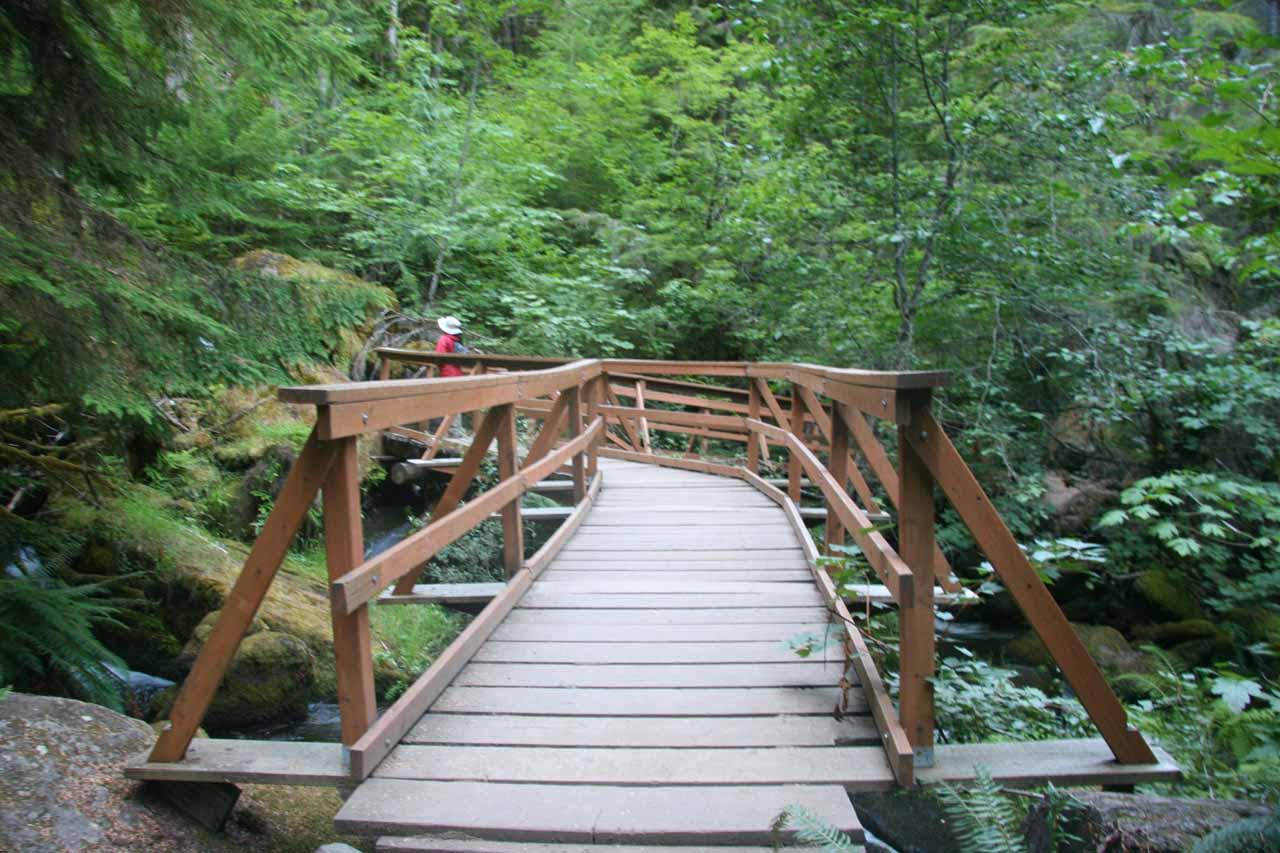 Watson Creek bridge