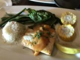 Wayfarers_003_iPhone_08172017 - This was my halibut dish at the Wayfarer's in Cannon Beach