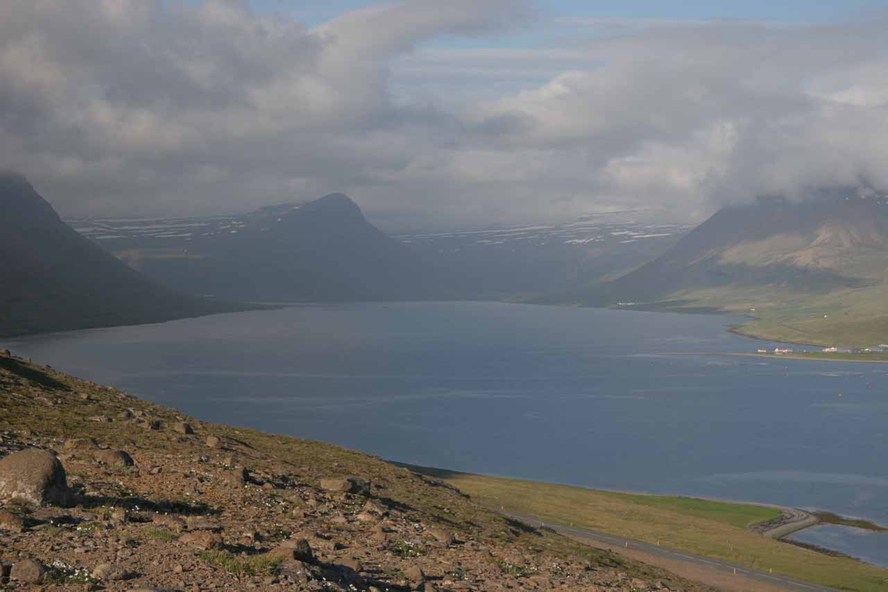 When we left Ísafjörður, we headed east towards the Strandir Coast, and along the way, we were treated to beautiful scenery underscoring the rugged beauty and remoteness of the Westfjords