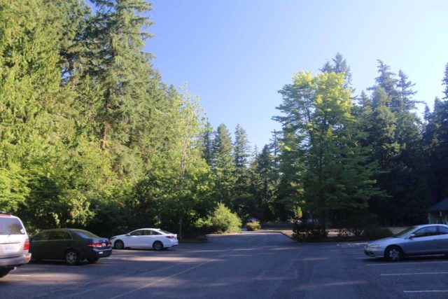 Whatcom_Falls_001_07312017 - The parking lot at Whatcom Falls Park