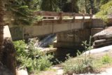 Whiskey_Falls_076_07102016 - This was the road bridge crossing Whiskey Creek, which had quite a bit of graffiti on it