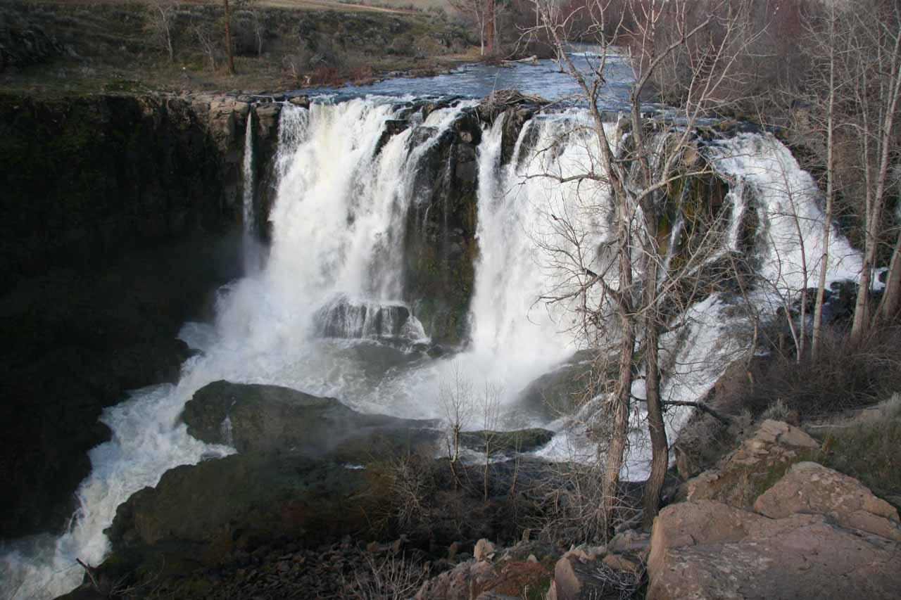 The Upper White River Falls