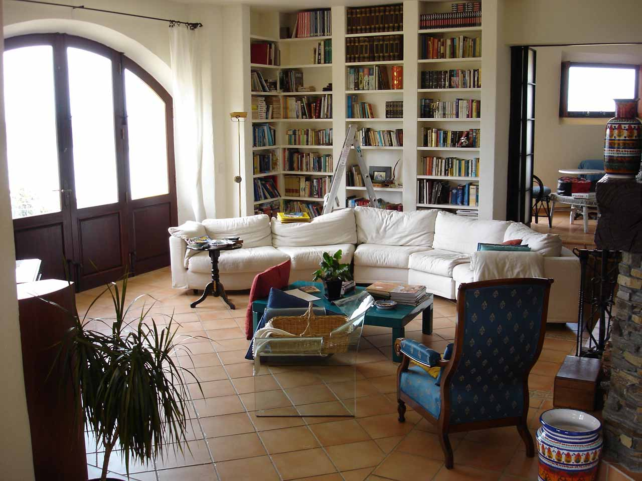 Inside the Villa Toscana Lodge