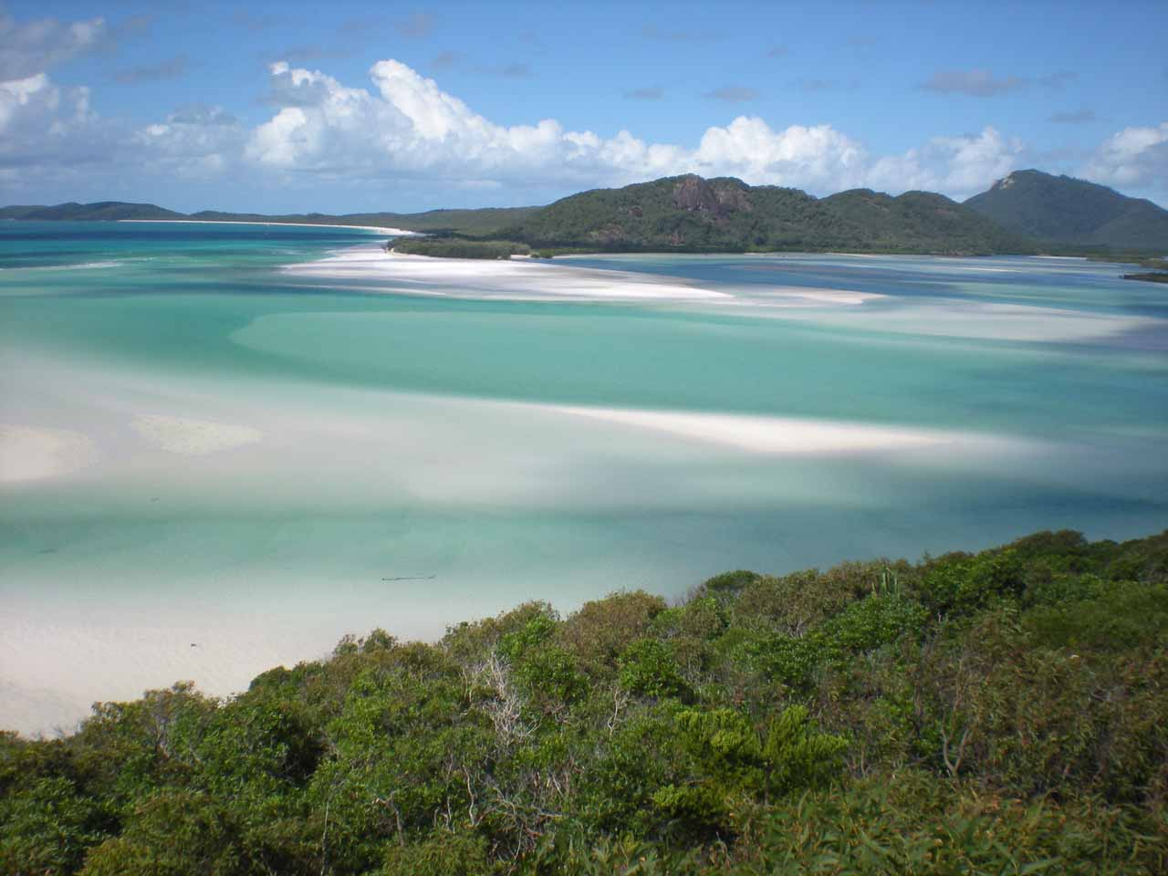 The panorama at Whitsunday Island