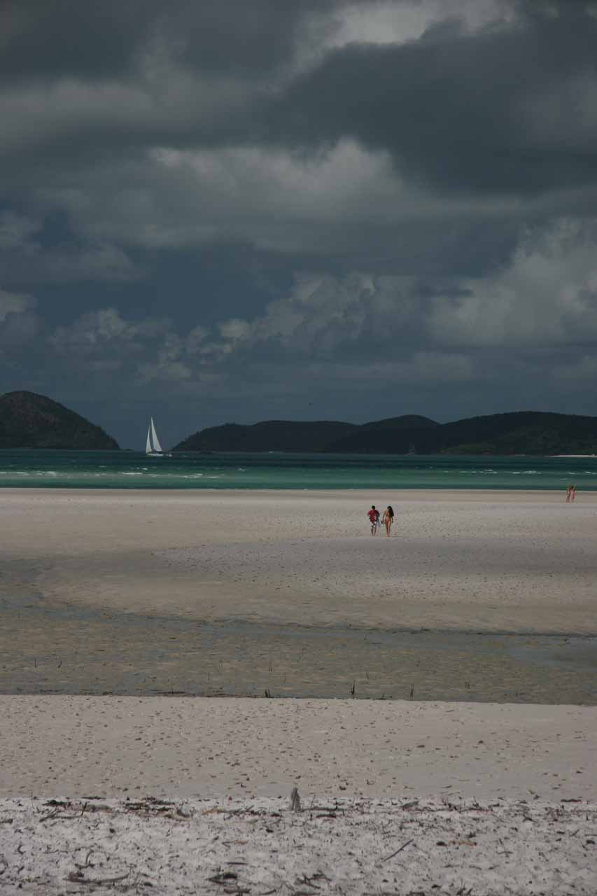 On the Whitehaven Beach