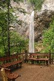 Wildenstein_Waterfall_060_07102018 - Making it to the lookout deck for the Wildensteiner Waterfall