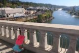 Willamette_Falls_030_07282017 - Protective railings were set up to give us some piece of mind that our daughter wouldn't plunge into the Willamette River