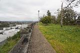 Willamette_Falls_Promenade_063_04072021 - Looking back at the McLoughlin Promenade in the direction of the West Linn Bridge