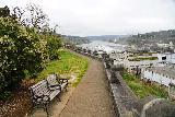 Willamette_Falls_Promenade_065_04072021 - Last look back in the direction of Willamette Falls along the McLoughlin Promenade