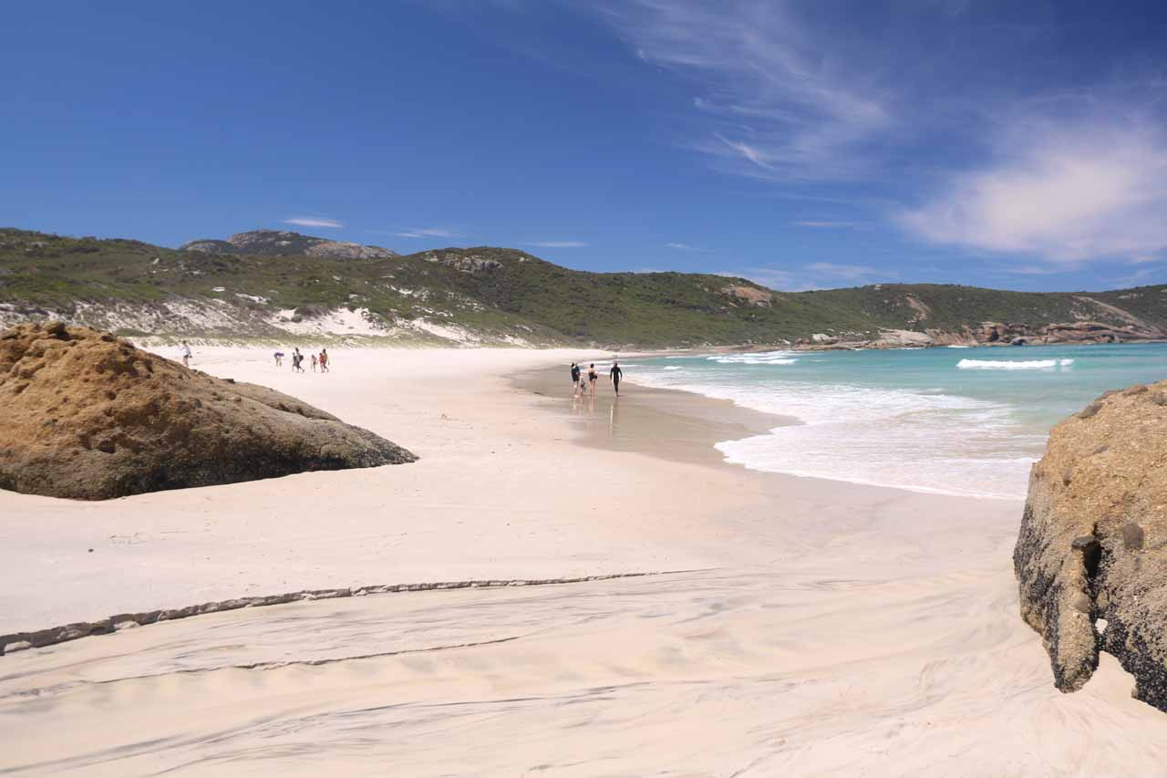 This was the aptly-named Squeaky Beach in Wilsons Promontory just over an hour drive from Agnes Falls. Not only was the beach here beautiful and serene, but the sand really did squeak!