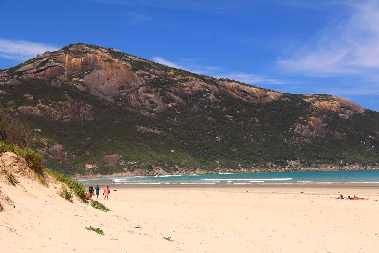 At the very end of the Wilsons Promontory Road to Tidal River, a less squeaky but no less beautiful Norman's Beach was another nice spot to chill out and just enjoy Nature