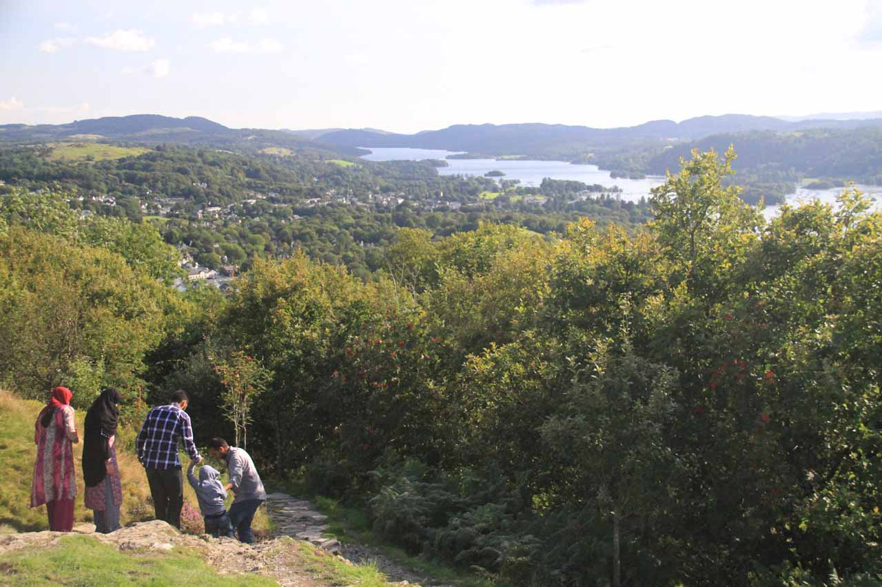 Just a short distance down the A591 from Ambleside was Windermere, which was probably the most well-known of the lakes and towns in the English Lakes District
