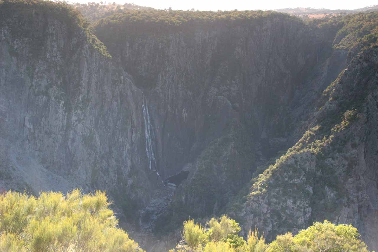 Another contextual view of both Wollomombi Falls (left) and Chandler Falls (barely visible to the right) as we walked towards Checks Lookout