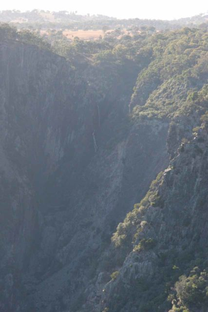 Wollomombi_Falls_031_05062008 - All zoomed in on what I think was Chandler Falls barely visible in the haze and the low flow from the Checks Lookout