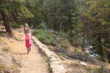 Woodbine_Falls_040_08092017 - The Woodbine Falls Trail now meandering alongside Woodbine Creek again