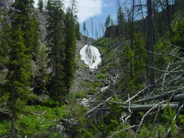 Wraith_Falls_015_06242004 - This was what Wraith Falls looked like when we first visited it in June 2004