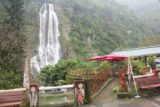 Wulai_Waterfall_068_11022016 - Contextual look at the Wulai Waterfall backing some restaurant or cafe at the lowest level of the Wulai Town