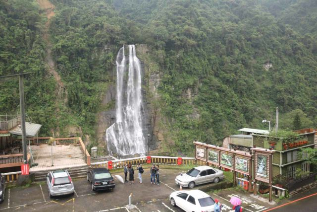 Wulai_Waterfall_075_11022016 - Looking down at the context of where we parked the car near the cable car station right across from the Wulai Waterfall