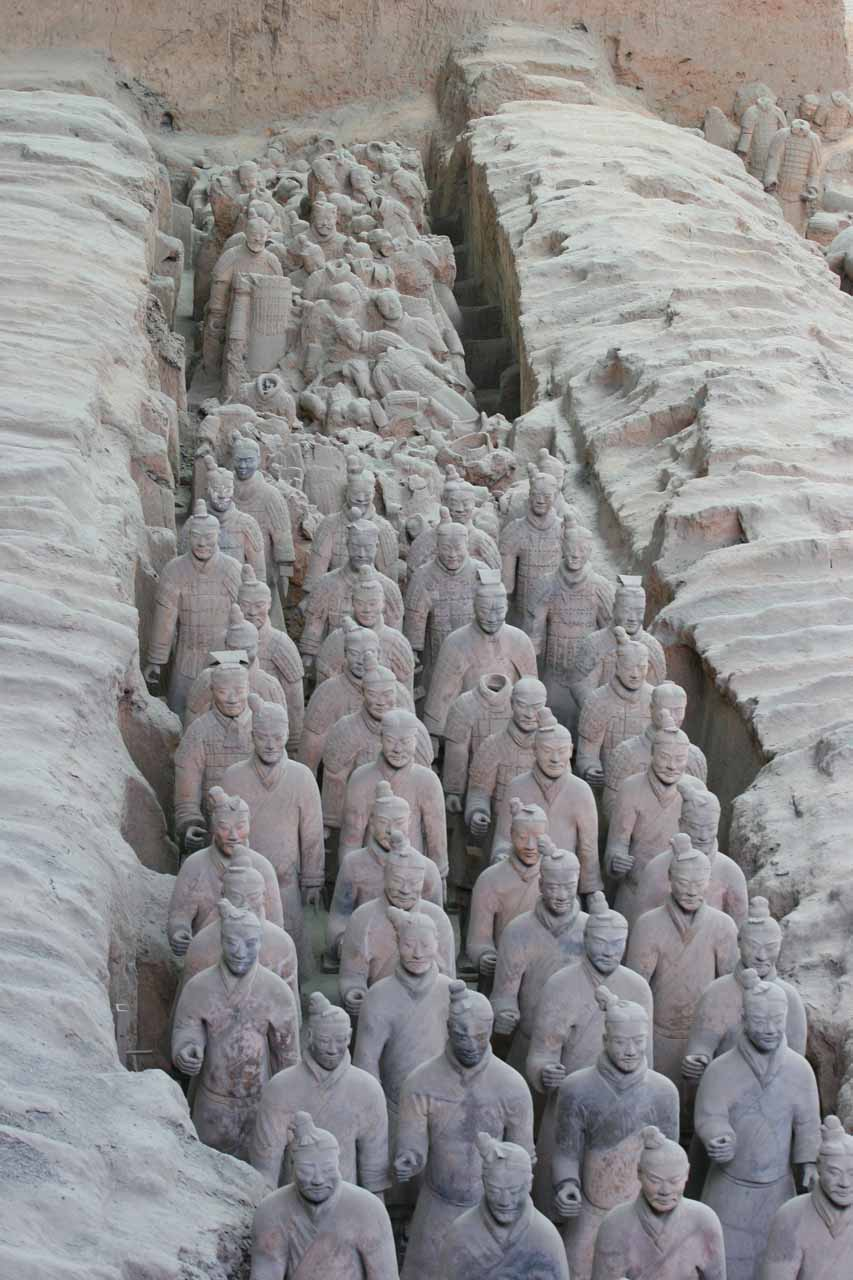 Lots of Terracota Warriors
