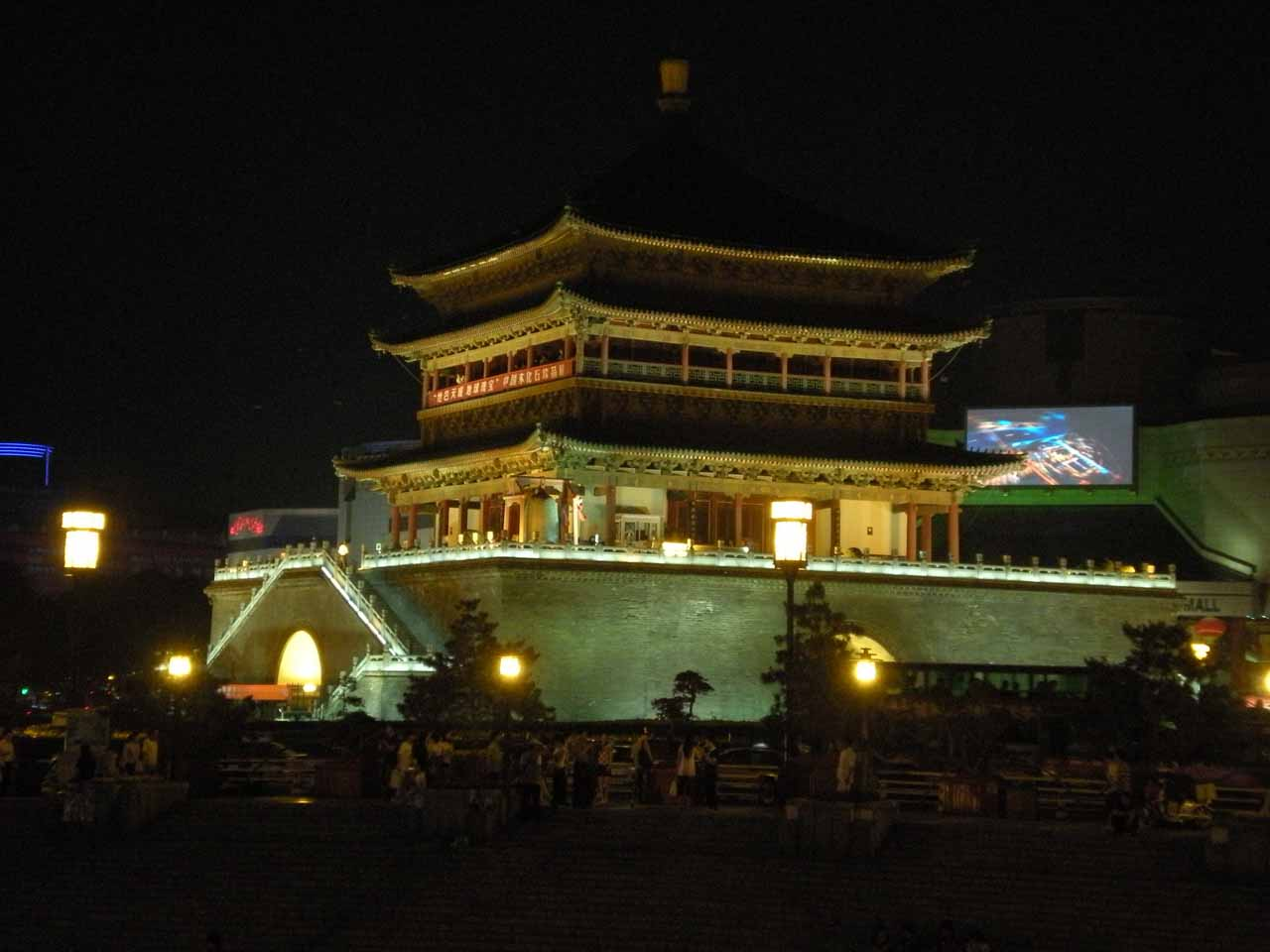 Another night on the town in Xi'an