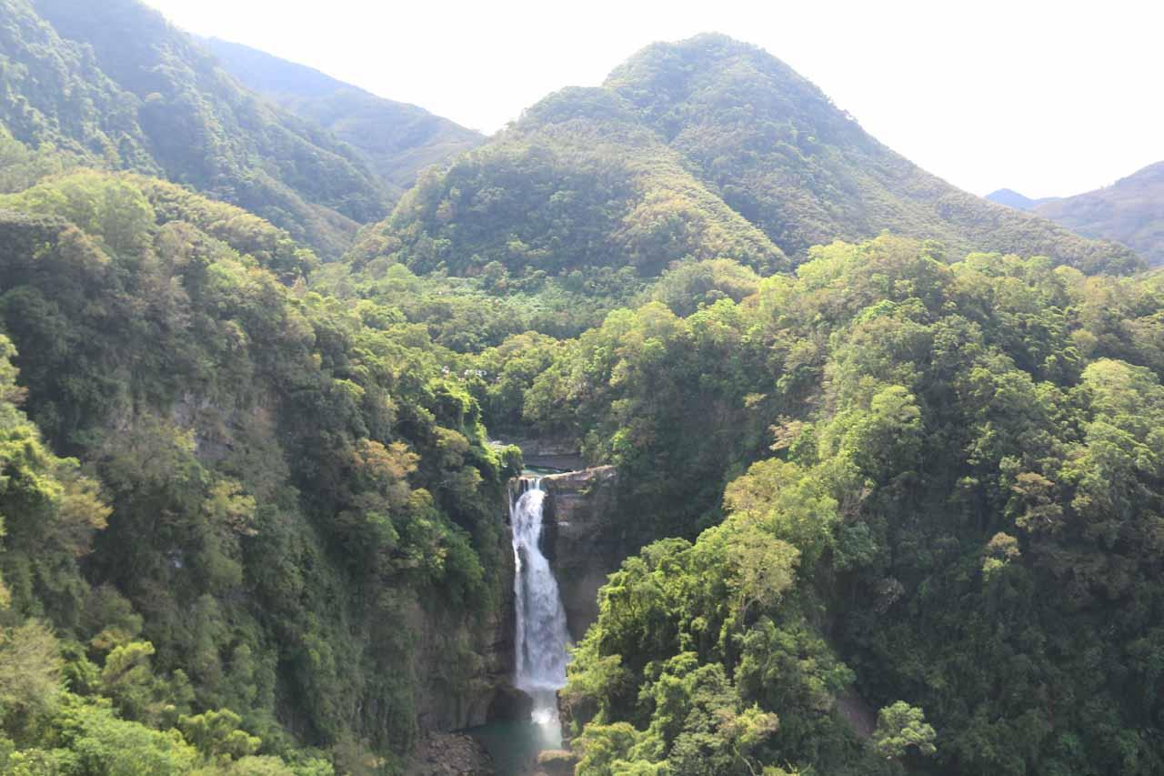 The Xiao Wulai Waterfall