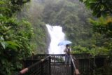 Xinliao_Waterfall_084_11022016 - This fellow was exercising in the rain while we were at the Xinliao Waterfall